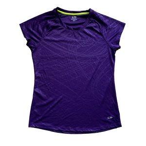 Purple Champion semi-fitted tee